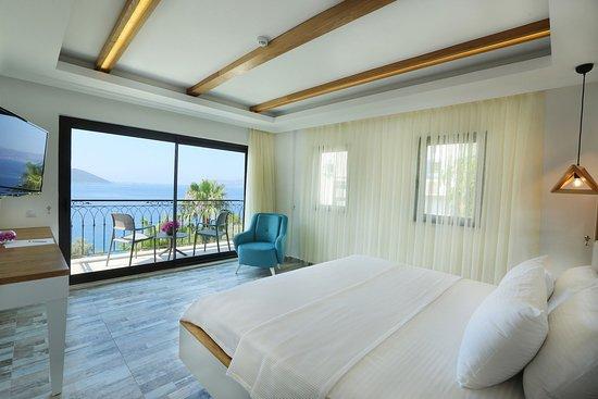 Payam Hotel: Deniz Manzaralı Delux Oda / Delux Room with Seaview