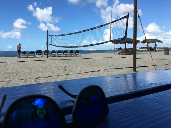 00238d5628 Breezes Resort   Spa Bahamas  The beach and pool volley ball is good fun