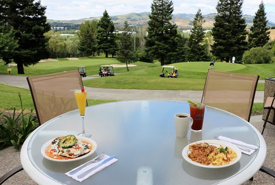 San Ramon, Californien: Lunch on the patio