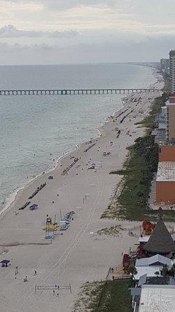 Sunrise Beach Resort: 25th floor view