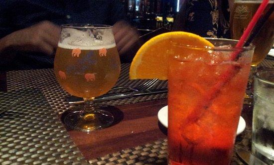 Appezzamento da alcool su una luna piena