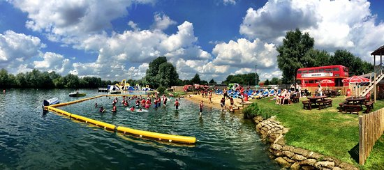 Liquid Leisure: Come down and enjoy a day in the sun on our Aqua Park!