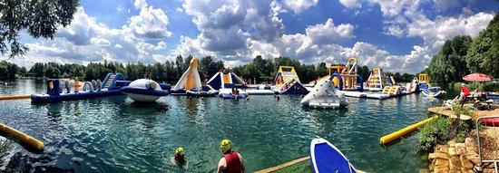 Liquid Leisure: Our new and improved Aqua Park!