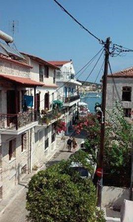 Labito Hotel: View from the balcony, room 224