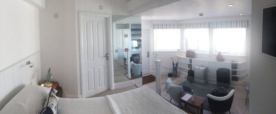 Trevose Harbour House: Panoramabild des Zimmers