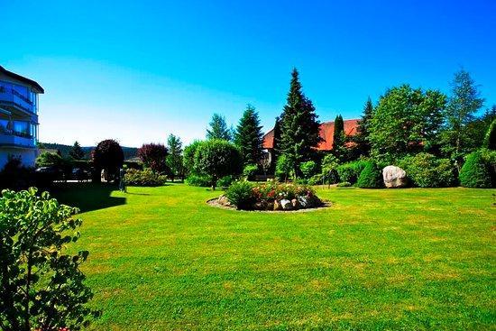 Parkhotel Flora : Garten