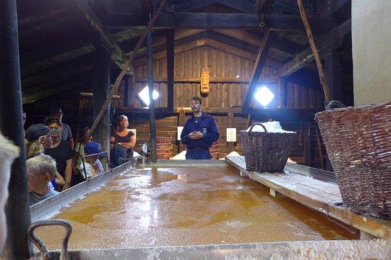 Laesoe Island, Dania: Læsø Saltsyderi - foredraget (denne gang ikke ved Poul)