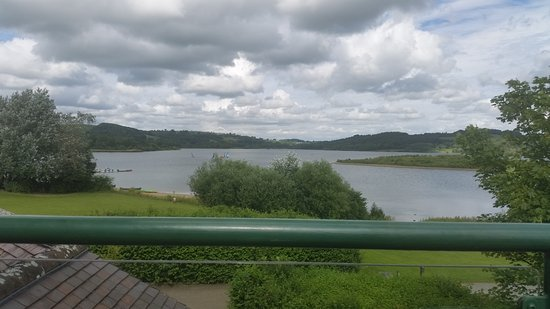 View from Mainsail Restaurant Terrace across Carsington Water