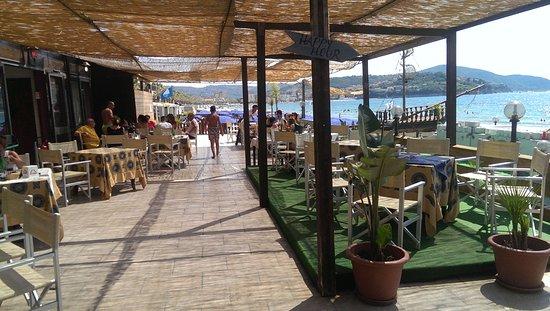 Terrazza lido - Foto di Hotel Insonnia, Agropoli - TripAdvisor