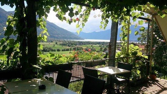 Riazzino, سويسرا: terrazza