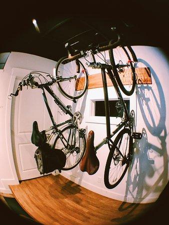 Refuge Coffee: Bike friendly!