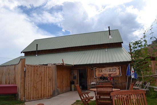 Ten Sleep, WY: Brewery with bar inside