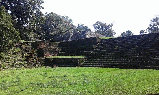 Quirigua, Guatemala: plaza