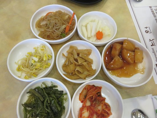 Nak Won: 7 varied and delicious side dishes