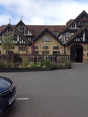 Westerham, UK: From car park at front