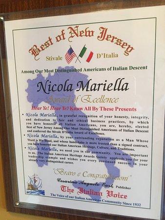 Nicola's Ristorante: A very pleasant find