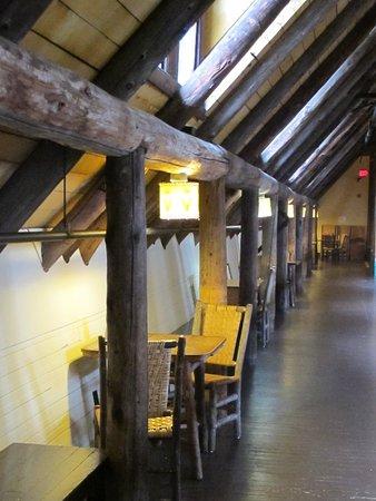 Paradise Inn At Mount Rainier Public Sitting Area In Mezzanine On Second Floor