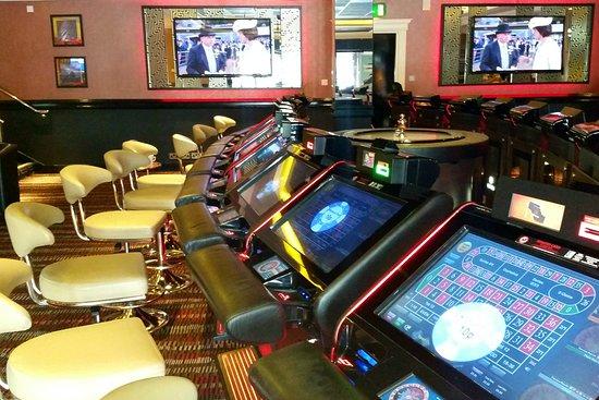 Salford, UK: Electronic Roulettes