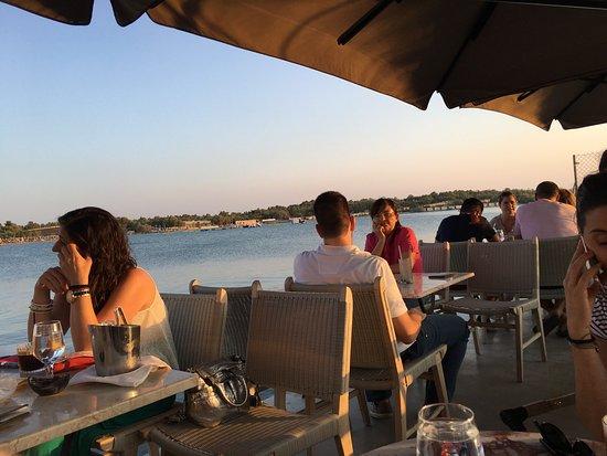Glyfada, Grécia: Seaside drink
