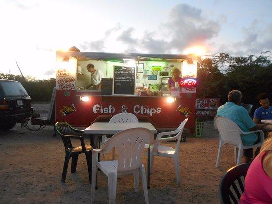 Chippy Antigua: Frying tonight.