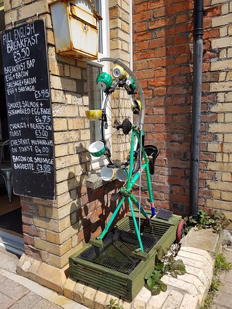 The Coffee Pot: Local art....