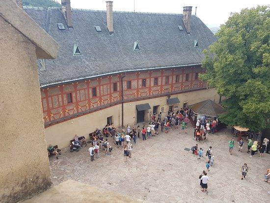 Karlstejn, República Checa: Nádvoří