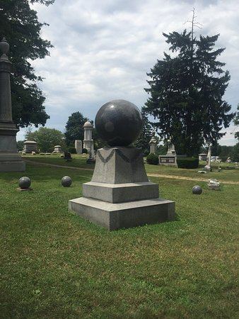Marion, OH: Granite Revolving Ball