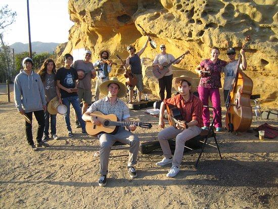 Silverado, CA: Mountain Music Jam