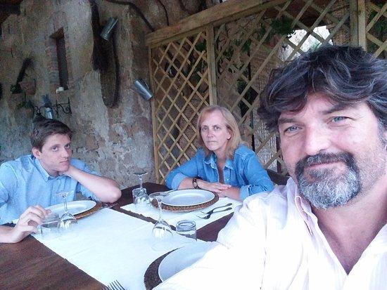 Lubriano, Italia: la gioia del weekend...si mangia!