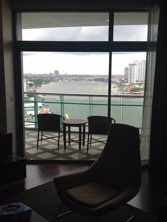 Vista dalla zona giorno nostra suite al 17° piano