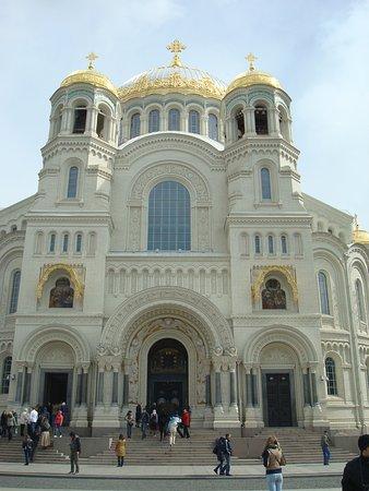 The Naval Cathedral of Saint Nicholas in Kronstadt : Морской собор