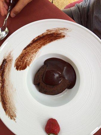 Soufflé di cioccolato