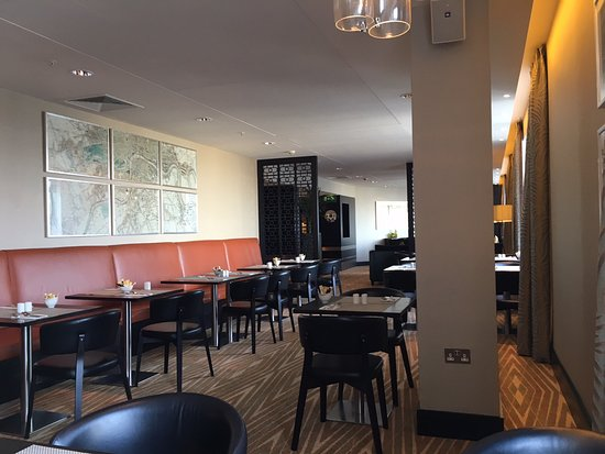 Hilton London Canary Wharf: Executive Lounge