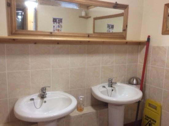 Hunmanby, UK: ladies toilets