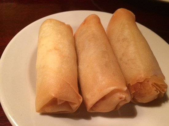 Rasa Sayang Restaurant: egg roll