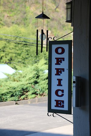 Orofino, ID: Quaint office sign
