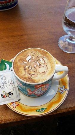 Serrara Fontana, Italia: toller Cappuccino