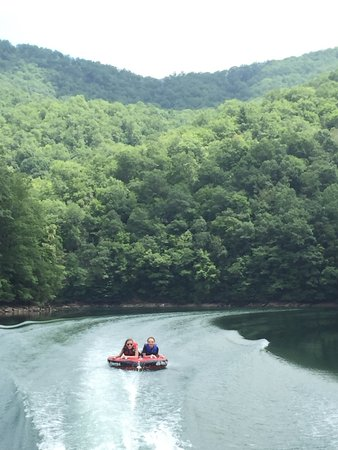 Topton, Carolina del Norte: Tubing on beautiful river