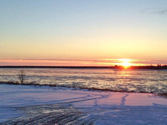 Fort Providence, Canada: The Mackenzie River