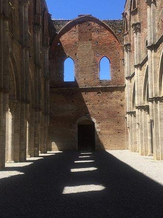 Chiusdino, Italia: Sole e ombra