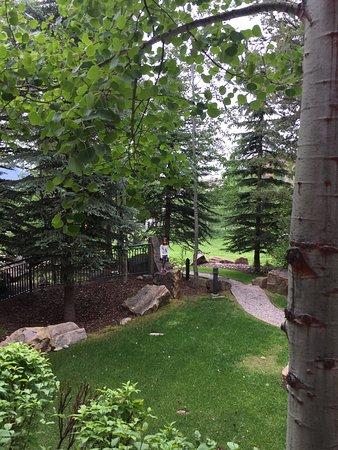 Teton Village, WY: Teton club backyard