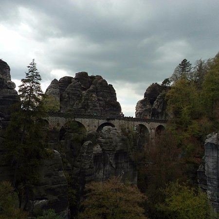Bastei, Germany: Мост Бастай