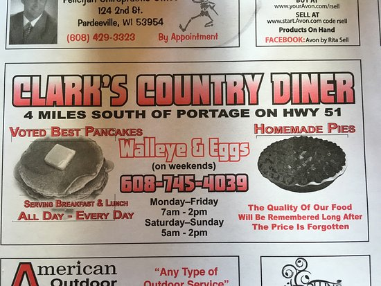 Portage, WI: Clark's