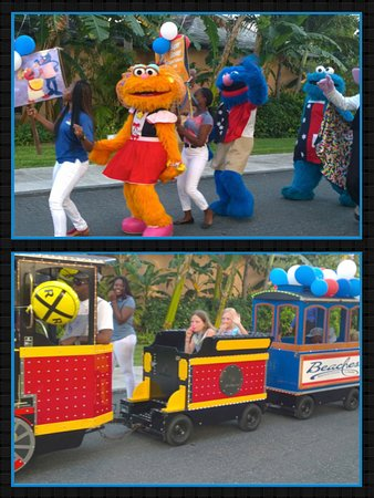 Beaches Turks and Caicos Resort Villages and Spa: Sesame Street Parade