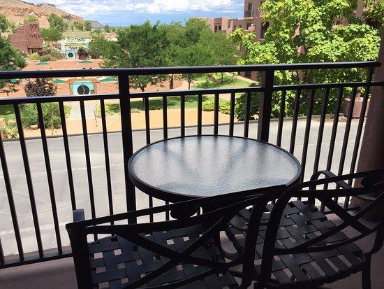Santa Ana Pueblo, NM: Balcony