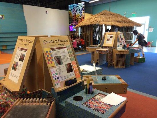 Davie, FL: CultureScape Exhibit has art activities from various countries.