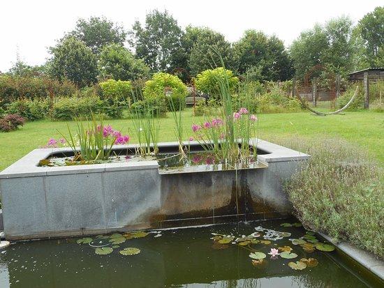 Eindhout, Belgium: Prachtig aangelegde tuin