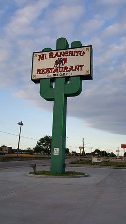 Ogallala, NE: big sign