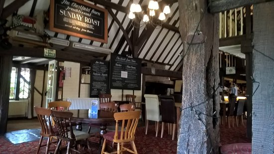 Chestfield, UK: The interior
