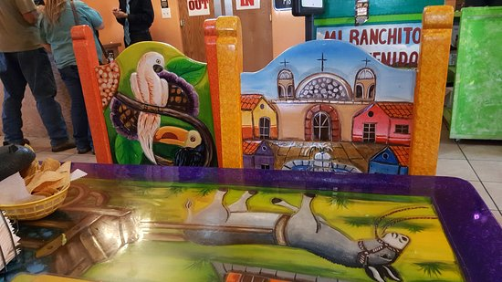 Ogallala, NE: art on chairs and tables